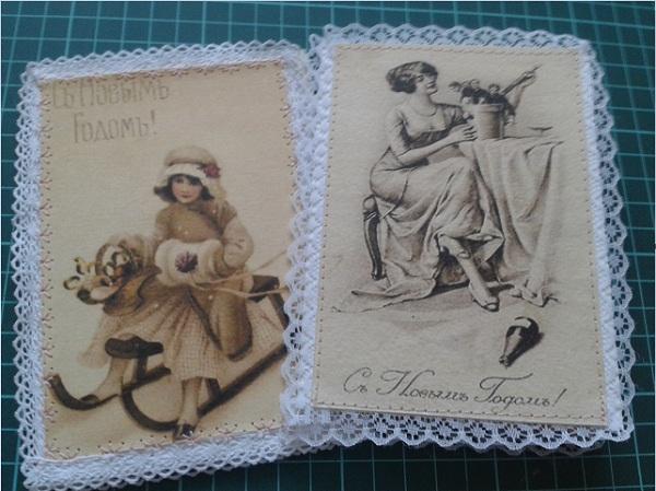 новогодняя открытка 2222