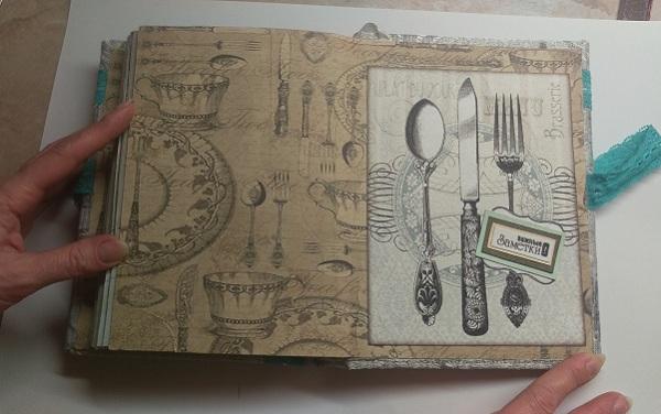 кулинарная книга ручной работы 33333333333